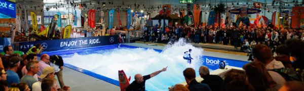 Beach World & THE WAVE - Board Sports auf der boot 2018 - Foto: © Messe Düsseldorf, ctillmann