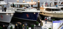 Motorboats and motoryachts at boot Dusseldorf / © MD, ctillmann