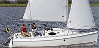 Sailing boats for beginners - comfortable and spacious