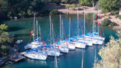Boating holiday - charter yacht fleet / Foto: Sunsail
