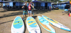 SUP boards are handy companions for camping holidays / Foto: (c) Kanu on Tour
