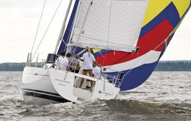 SwedeStar 415 - easy to sail