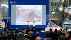 Information events on the Sailing Center stage / Foto: © MD, ctillmann