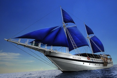 Luxury sailyacht S/Y Palau Siren