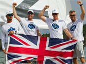 Ian Williams and his team, Picture: © Robert Hajduk / WMRT