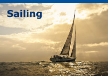 Sailing, sailing yachts, sail boats & boating equipment