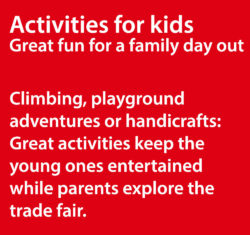 Activities for children at boot Düsseldorf keep the kids entertained on a family day out.