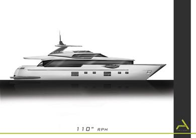 45'  aluminium runabout and 110' Displacement  Motoryacht