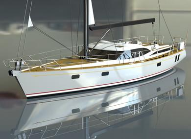 New Discovery 58 bluewater cruising yacht