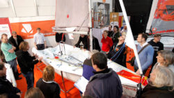 Sailing service topics in the Sailing Center at boot - MD, ctillmann