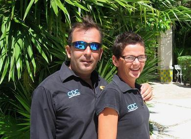 Pro Dive Mexico´s two Platinum Directors