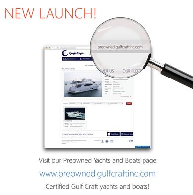 Gulf Craft online sales portal