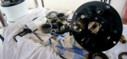 Foto: disassembled winch