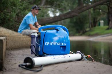 RainMan mobile Desalination