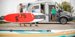 SUP and surfboards are ideal caravan companions / Foto: (c) MD / CT